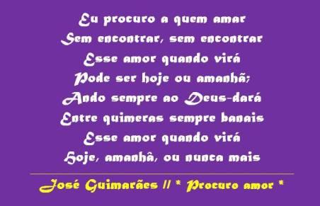 letra_procuro_amor