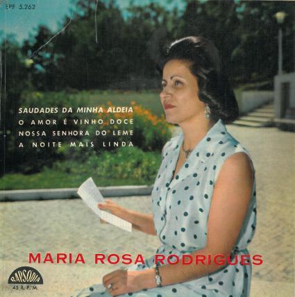Mª Rosa Rodrigues capa