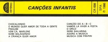 K7 Várias (Canções Infantis) 1-a 3