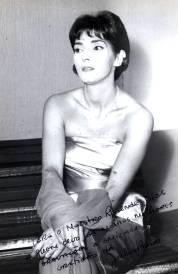 Artistas Júlia Babo autografada