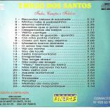 Contra capa Disco Emílio dos Santos - 2