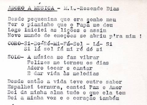 Adoro a Música - letra001