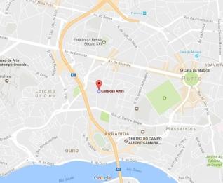 # 0 Mapa Casa das Artes 1