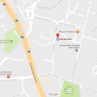 # 0 Mapa Casa das Artes 2