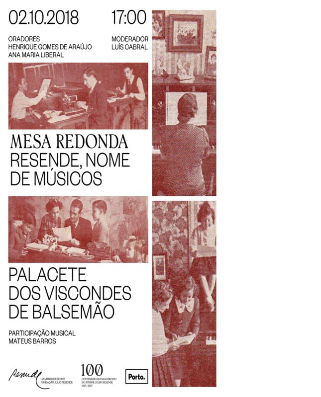 RESENDE, NOME DE MÚSICOS
